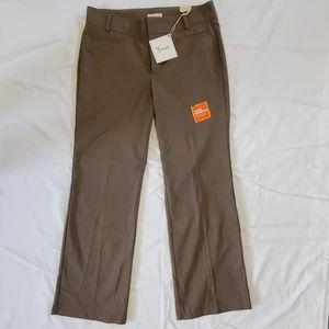 Dockers Slimming Khaki Brown Trousers 12M Nwt